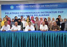 Pemanggilan Peserta Pelatihan Pembentukan Instruktur PKP Guru Mata Pelajaran