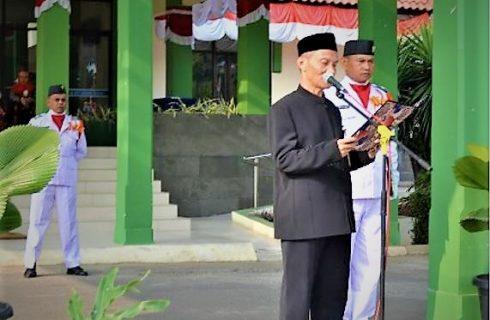 PPPPTK Pertanian Bersama Warga Masyarakat Laksanakan Upacara Bendera Peringatan HUT Ke-74 Kemerdekaan Republik Indonesia