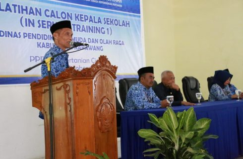 Diklat Calon Kepala Sekolah Dalam In Service Learning 1 (In-1) Kabupaten Karawang Angkatan 1