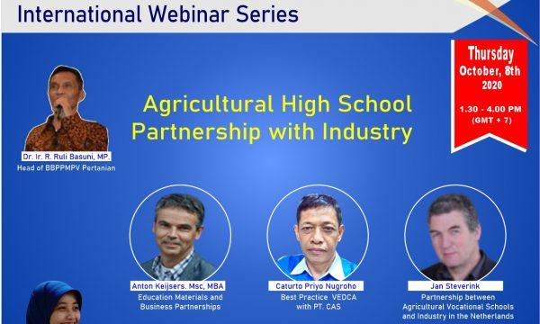 Seminar Daring Internasional BBPPMPV Pertanian