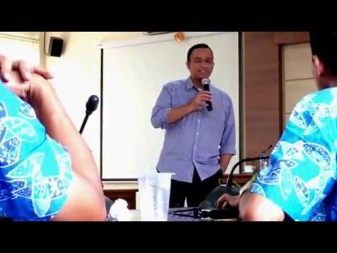 P4TK Cianjur #2: Mendikbud Anies Baswedan Dialog dengan Staf di P4TK(28/2/2016)