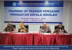 PPPPTK Pertanian Cianjur Melaksanakan ToT Pengajar Penguatan Kepala Sekolah Untuk Diklat Penguatan Kepala Sekolah