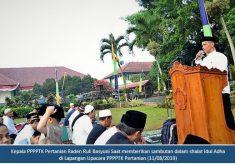 PPPPTK Pertanian Adakan Shalat Idul Adha Bersama Warga Masyarakat