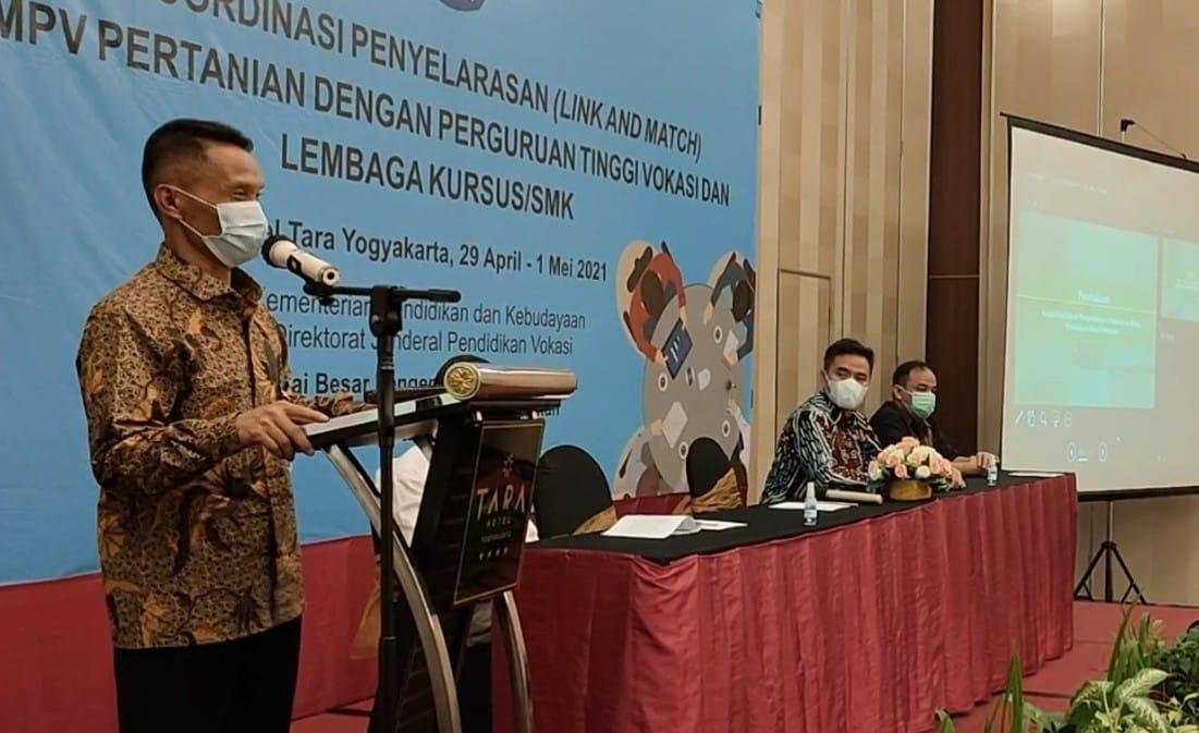 BBPPMPV Pertanian selenggarakan Rapat Koordinasi Link and Match dengan Perguruan Tinggi Vokasi dan Lembaga Kursus/SMK
