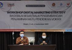 Workshop Digital Marketing Strategy Bagi Pimpinan Balai Besar Di Lingkungan Ditjen Pendidikan Vokasi